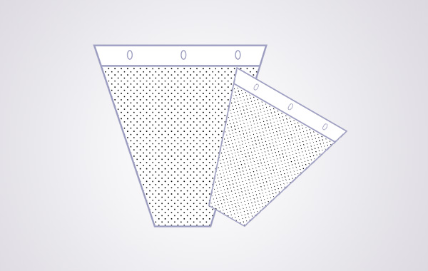 CPP / BOPP Microperforated Flower Bag